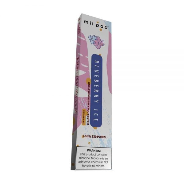 Blueberry Ice Disposable By mii Pod