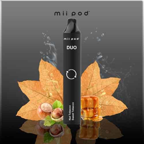 mii Pod DUO - Nut Tobacco + Sweet Tobacco